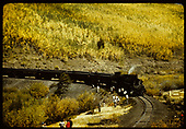 #494 K-37 with RMRC excursion train. (5-31-1952 - Chama - Cumbres - Alamosa)?<br /> D&amp;RGW    5/31/1952
