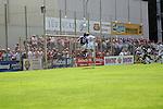 Andis Shala (VfR Mannheim) und Janis Crone (SVW Mannheim) in der Oberliga 2007/08 VfR Mannheim vs. SV Waldhof/Mannheim. Foto © Rhein-Neckar-Picture *** Foto ist honorarpflichtig! *** Auf Anfrage in höherer Qualität/Auflösung. Belegexemplar erbeten.