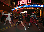 """Michael Jacksons' """"Thriller"""" is performed during the Zombie Crawl held on Saturday night, October 26, 2019 in downtown Reno."""