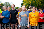 At the parkrun Tralee on Saturday were James Laid, Liam Hassett, Tom Daly and Ronan Rogers