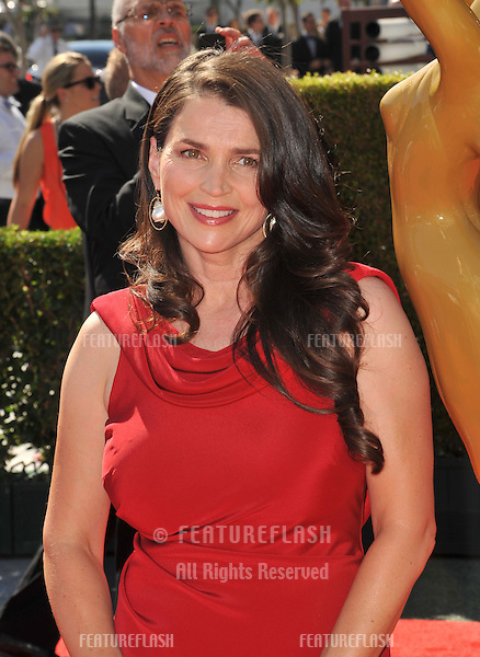 Julia Ormond at the 2012 Primetime Creative Emmy Awards at the Nokia Theatre, LA Live..September 15, 2012  Los Angeles, CA.Picture: Paul Smith / Featureflash