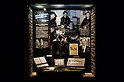 SAITAMA - DEC. 5: Items from the time John Lennon first met Brian Epstein, on display at the John Lennon Museum. (Photo by Alfie Goodrich/Nippon News)