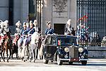 President of Portugal Marcelo Rebelo de Sousa at the Royal Palace in Madrid, Spain. April 16, 2018. (ALTERPHOTOS/Borja B.Hojas)