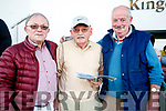 Pictured at the Kingdom Greyhound Stadium, Tralee, GAA Night of Champions on Friday night last were l-r: Pat Lyons (Listowel), Tom O'Connor (Tralee) and Dan McElligott (Duagh).