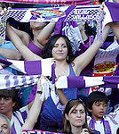 Real Valladolid's supporters during spanish Second Football Division Play-off match.June 16,2012. (ALTERPHOTOS/Acero)