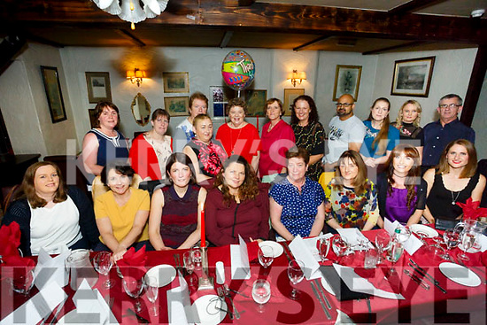 Enjoying a night out at Cassidy's for university hospital kerry Cardiology Department staff on Friday
