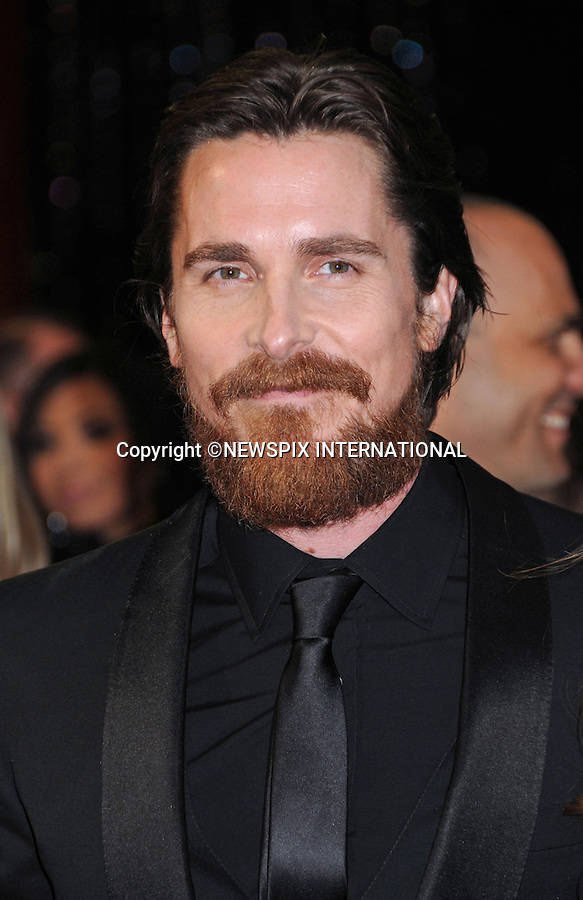 """CHRISTIAN BALE - Oscars 2011.83rd Academy Awards arrivals, Kodak Theatre, Hollywood, Los Angeles_27/02/2011.Mandatory Photo Credit: ©Phillips-Newspix International..**ALL FEES PAYABLE TO: """"NEWSPIX INTERNATIONAL""""**..PHOTO CREDIT MANDATORY!!: NEWSPIX INTERNATIONAL(Failure to credit will incur a surcharge of 100% of reproduction fees)..IMMEDIATE CONFIRMATION OF USAGE REQUIRED:.Newspix International, 31 Chinnery Hill, Bishop's Stortford, ENGLAND CM23 3PS.Tel:+441279 324672  ; Fax: +441279656877.Mobile:  0777568 1153.e-mail: info@newspixinternational.co.uk"""