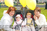 REMEMERANCE: Children from the Tir na nOg Childcare Centre in Ballybunion at a balloon ceremony to remember Madeline McCann in Ballybunion on Friday last..Front L/r. Leesha Meehan (Ballybunion), Niamh Daly (Asdee), Eabha Doyle (Asdee) and Patsy Gleeson (Ballybunion).   Copyright Kerry's Eye 2008