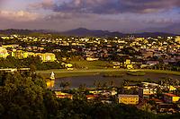 Overview of Noumea from One Taro Hill (looking toward the Hippodrome Henri Millard horse racing track), Noumea,  Grand Terre, New Caledonia