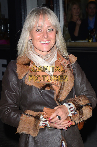 LONDON, ENGLAND - FEBRUARY 24: Tracie Bennett attends the Opening Night of 'A to Z of Mrs P' at the Southwark Playhouse on February 24, 2014 in London, England.<br /> CAP/MB/PP<br /> &copy;Michael Ball/PP/Capital Pictures