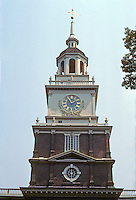 Philadelphia: Independence Hall 1727-1744. Photo '88.
