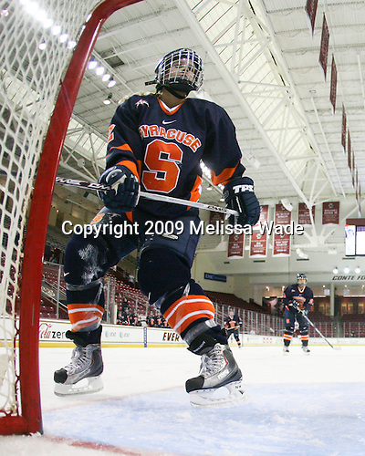 Taylor Metcalfe (Syracuse - 2) - The Syracuse University Orange tied the Boston College Eagles 3-3 on Friday, October 9, 2009, at Conte Forum in Chestnut Hill, Massachusetts.