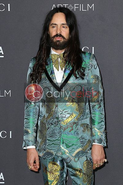 Alessandro Michele<br /> at the 2016 LACMA Art +  Film Gala, LACMA, Los Angeles, CA 10-29-16<br /> David Edwards/DailyCeleb.com 818-249-4998