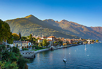 Italy, Piedmont, Cannobio: picturesque small town with historical old town, west bank of Lago Maggiore | Italien, Piemont, Cannobio: malerisches Staedtchen mit historischem Altstadtkern, am Westufer des Lago Maggiore