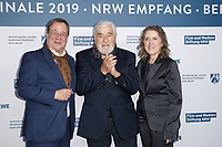 Armin Laschet (CDU), Mario Adorf, Petra Mueller <br /> ***NRW Reception during the 68th International Film Festival Berlinale, Berlin, Germany - 10 Feb 2019 *** Credit: Action PRess / MediaPunch<br />