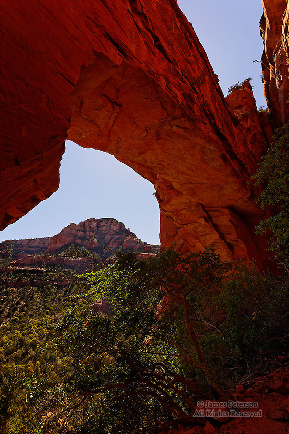 Natural Arch, Fay Canyon, near Sedona, Arizona