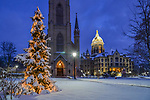 MC 12.25.17 Christmas Morning.JPG by Matt Cashore/University of Notre Dame