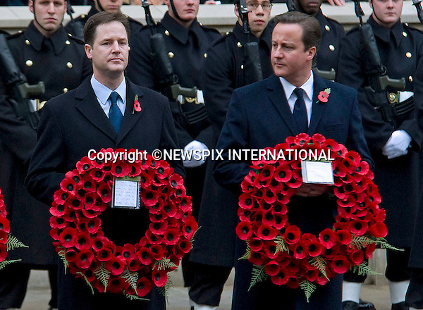 """REMEMBRANCE SERVICE 2010.Prince Philip, Prince Charles, Prince Andrew Prince Edward and Princess Anne joined the Queen at the Cenotaph, London for the annual Service of Remembrance_14/11/2010..Mandatory Photo Credit: ©Dias/Newspix International..**ALL FEES PAYABLE TO: """"NEWSPIX INTERNATIONAL""""**..PHOTO CREDIT MANDATORY!!: NEWSPIX INTERNATIONAL(Failure to credit will incur a surcharge of 100% of reproduction fees)..IMMEDIATE CONFIRMATION OF USAGE REQUIRED:.Newspix International, 31 Chinnery Hill, Bishop's Stortford, ENGLAND CM23 3PS.Tel:+441279 324672  ; Fax: +441279656877.Mobile:  0777568 1153.e-mail: info@newspixinternational.co.uk"""