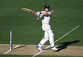 25th March 2018, Auckland, New Zealand;  Henry Nicholls batting.<br />