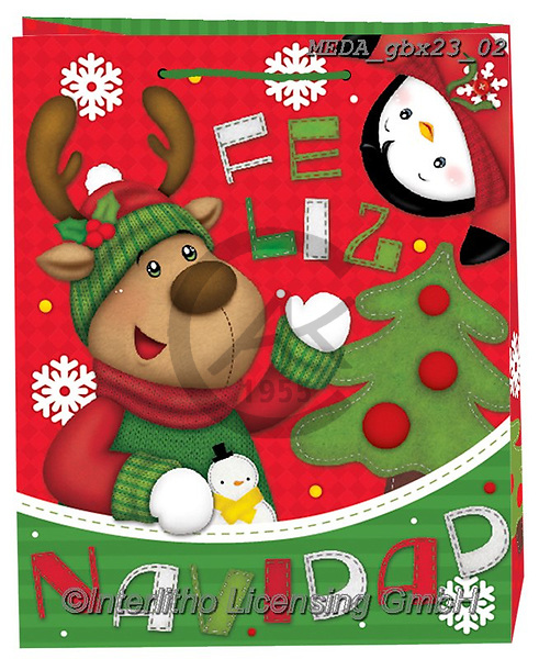 Dreams, CHRISTMAS ANIMALS, WEIHNACHTEN TIERE, NAVIDAD ANIMALES, paintings+++++,MEDAGBX23/02,#XA#