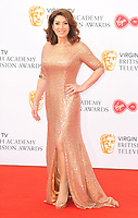 Jane McDonald at the Virgin TV British Academy (BAFTA) Television Awards 2018, Royal Festival Hall, Belvedere Road, London, England, UK, on Sunday 13 May 2018.<br /> CAP/CAN<br /> &copy;CAN/Capital Pictures