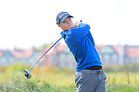 Jayden Schaper (RSA) on the 7th tee during Round 3 of the Lytham Trophy, held at Royal Lytham & St. Anne's, Lytham, Lancashire, England. 05/05/19<br /> <br /> Picture: Thos Caffrey / Golffile<br /> <br /> All photos usage must carry mandatory copyright credit (© Golffile | Thos Caffrey)