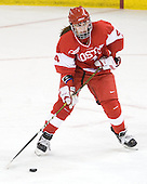Kathryn Miller (BU - 4) - The Boston College Eagles defeated the Boston University Terriers 2-1 in the opening round of the Beanpot on Tuesday, February 8, 2011, at Conte Forum in Chestnut Hill, Massachusetts.