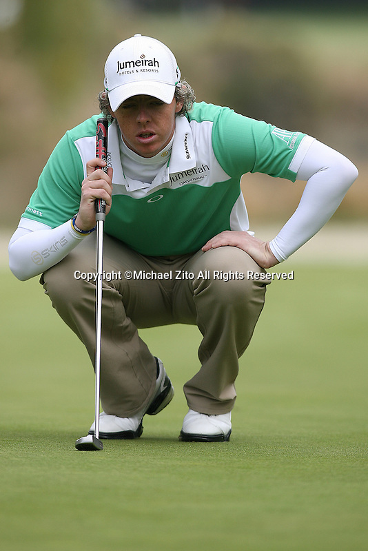 12/04/10 Thousand Oaks, CA:  Rory Mcilroy the 3rd round of the Chevron World Challenge. Held at the Sherwood Country Club in Thousand Oaks, CA