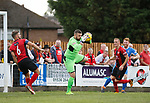 Leiston goalkeeper Marcus Garnham. Kettering Town 1 Leiston 2, Evo Stick Southern League Premier Central, Latimer Park. Kettering Town are a famous name in non-league football. After financial problems, relegations, and relocation, the club are once again upwardly mobile. Despite losing to Leiston, Kettering finished the season as Champions and were promoted to the National League North.