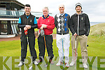 Ballybunion  Scratch Cup : Taking part in the Ballybunion Golf Club Scratch Cup on Saturday last were Gary Scanlon, Mike Nagle, Aidan Buckley & Hannes Boch.