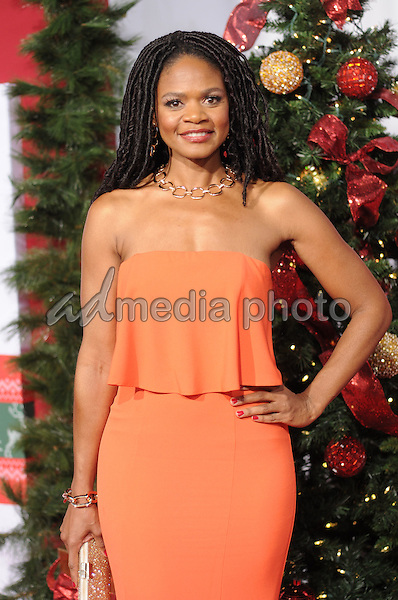 "03 November 2016 - Westwood, California. Kimberly Elise. Premiere Of Universal's ""Almost Christmas"" held at Regency Village Theatre. Photo Credit: Birdie Thompson/AdMedia"