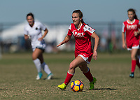 Lakewood Ranch, FL - Sunday Dec. 10, 2017: Jordan Canniff (10) during the 2017 Development Academy Winter Showcase & Nike International Friendlies at Premier Sports Campus at Lakewood Ranch, FL.