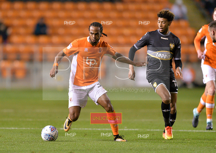 17/10/2017 Sky Bet League 1 Blackpool v Bury