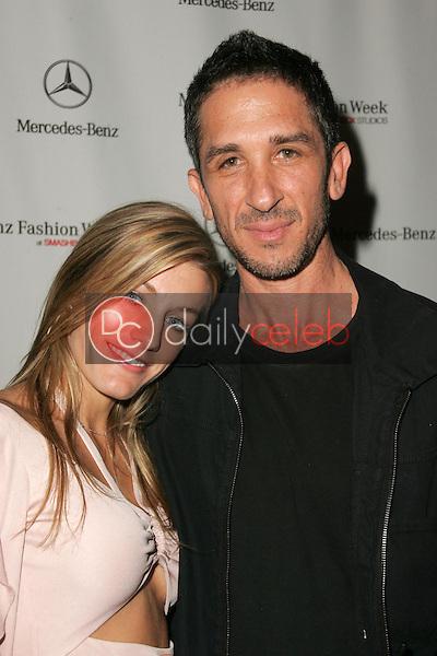 Anna Catherine and Davis Factor<br />at the Mercedes-Benz Fashion Week Louis Verdad Show. Smashbox, Culver City, CA. 10-16-05<br />Dave Edwards/DailyCeleb.com 818-249-4998