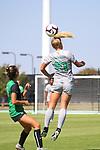 DENTON, TX - OCTOBER 20: North Texas Mean Green soccer v Marshall on October 20, 2019 in Denton, Texas.
