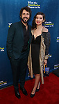 "Josh Groban & Girlfriend Schuyler Helford attending the Broadway Opening Night Performance of  ""What The Constitution Means To Me"" at the Hayes Theatre on March 31, 2019 in New York City."