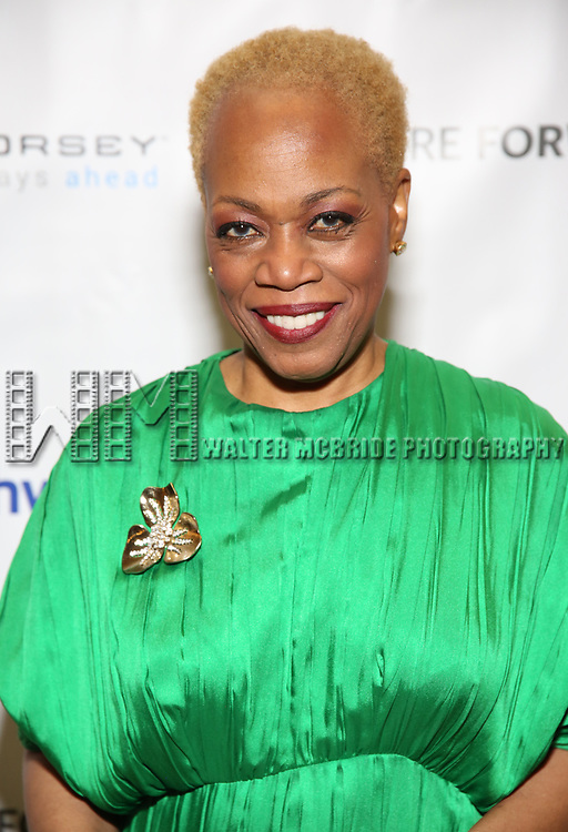 Regina Taylor during a reception for Theatre Forward's Chairman's Awards Gala at the Pierre Hotel on April 8, 2019 in New York City.