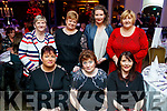 Celebrating Women's Christmas at Ballygarry House Hotel and Spa, Tralee, on Saturday night last, were front l-r: Rosie Collins, Eileen O'Carroll, Helen Musgrave all from Duagh. Back l-r: Mary Flavin  (Ballydonoghue), Marie O'Carroll (Duagh) Alison Hayes (Tipperary) and Theresa Flavin (Ballydonoghue).