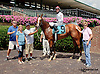 Sawyer winning at Delaware Park on 8/4/14