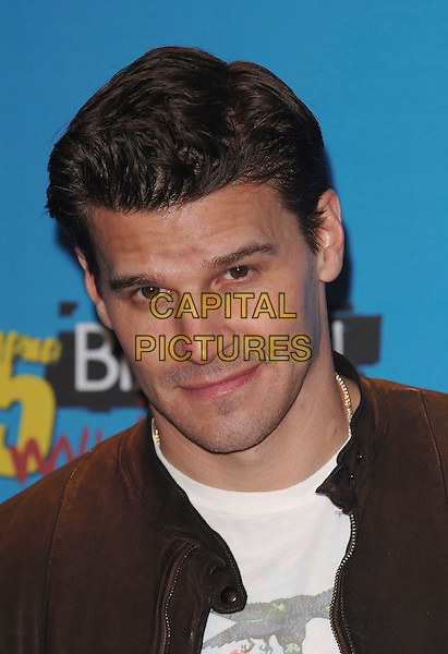 DAVID BOREANAZ .At the 2005 Billboard Music Awards at the MGM Grand Hotel, Las Vegas, Nevada, USA,.December 6th, 2005..portrait headshot .Ref: MOO.www.capitalpictures.com.sales@capitalpictures.com.©Capital Pictures..