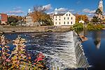 Slater Mill Historic Site in Pawtucket, Rhode Island, USA