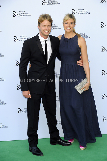 WWW.ACEPIXS.COM<br /> <br /> US Sales Only<br /> <br /> July 8 2013, London<br /> <br /> Sam Branson and Isabella Anstruther-Gough-Calthorpe at the Novak Djokovic Foundation Gala Dinner at The Roundhouse on July 8 2013 in London<br /> <br /> By Line: Famous/ACE Pictures<br /> <br /> <br /> ACE Pictures, Inc.<br /> tel: 646 769 0430<br /> Email: info@acepixs.com<br /> www.acepixs.com