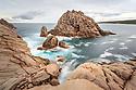 Sugarloaf Rock. Cape Naturaliste. Western Australia.