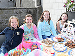 Aoibhenn Brooks, Niamh savage, Cliona Brooks and Catherine Savage pictured at the SOSAD coffee morning at Donore parish hall. Photo:Colin Bell/pressphotos.ie