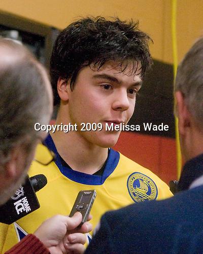Magnus Pääjärvi-Svensson (Sweden - 21) - Sweden defeated Slovakia 5-3 on Saturday, January 3, 2009, at Scotiabank Place in Kanata (Ottawa), Ontario, during the 2009 World Junior Championship.