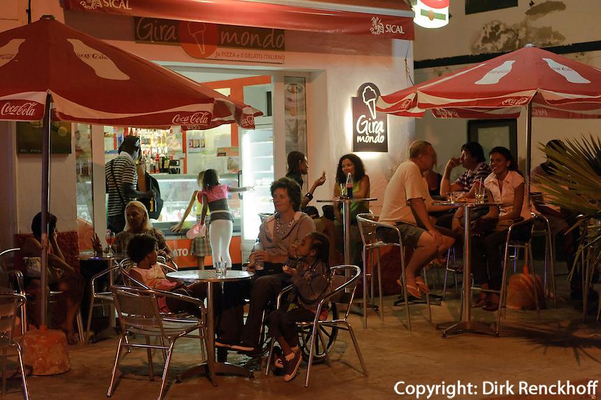 Restaurant in Santa Maria, Sal, Kapverden, Afrika