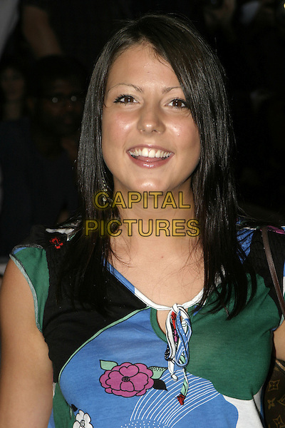 "EMMA (BIG BROTHER 5).""DodgeBall"" film premiere.Odeon Kensington .London 17 August 2004..portrait headshot.www.capitalpictures.com.sales@capitalpictures.com.©Capital Pictures"