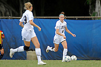 2 October 2011:  FIU defender April Perry (6) looks to pass the ball in the first half as the FIU Golden Panthers defeated the University of South Alabama Jaguars, 2-0, at University Park Stadium in Miami, Florida.