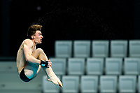 Picture by Rogan Thomson/SWpix.com - 16/07/2017 - Diving - Fina World Championships 2017 -  Duna Arena, Budapest, Hungary - Matty Lee of Great Britain in action during practice.