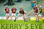 In Action WestMeath's captain Aonghus Clarke in the Leinster Senior Hurling Championship Round Robin Group, Round 2,  Kerry V Westmeath    on Saturday at Tralee's Austin Stack Park on Saturday
